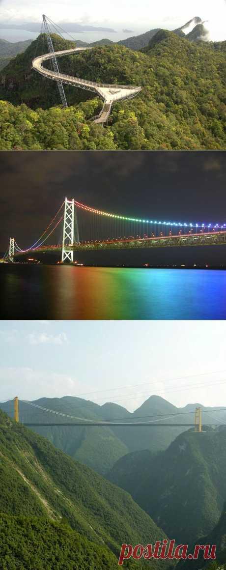 Самые уникальные мосты мира | Fresher - Лучшее из Рунета за день