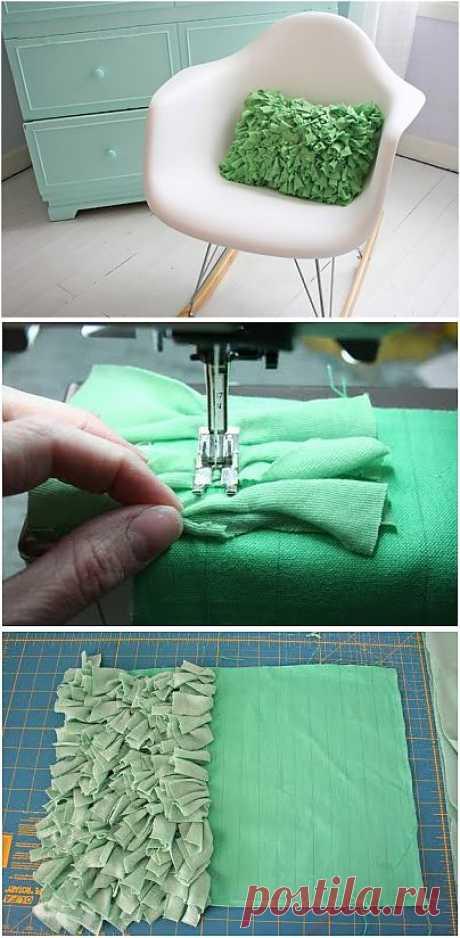 как сшить декоративную подушку   Я люблю рукоделие