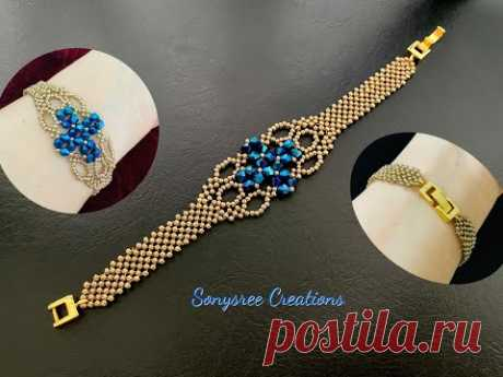 Señorita Bracelet    DIY Beaded Bracelet    Super Easy Tutorial