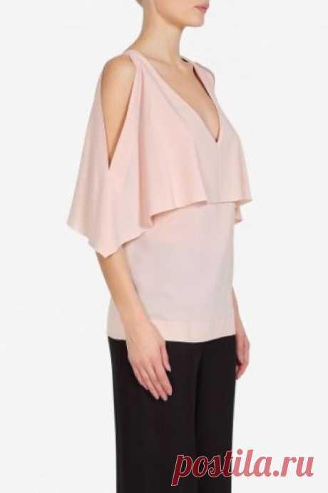 Официальный интернет магазин VASSA&Co - Женская коллекция - Блузка V186340N-1323C311