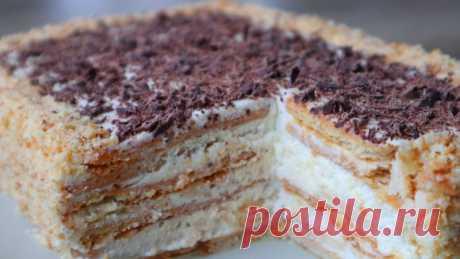Торт без выпечки за 15 минут плюс время на пропитку — Кулинарная книга - рецепты с фото