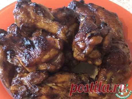 Крылышки по корейски Кулинарный рецепт