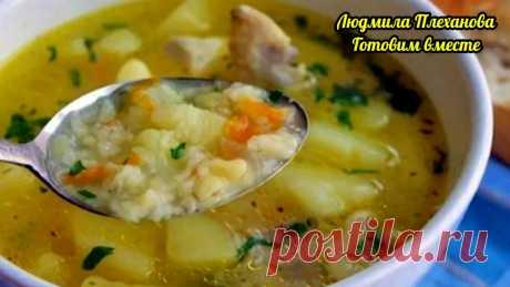 Этот суп - быстрая и вкусная альтернатива супу с клецками. К тому же, я его делаю со специями, получается невероятно 😋 | Людмила Плеханова Готовим вместе | Яндекс Дзен