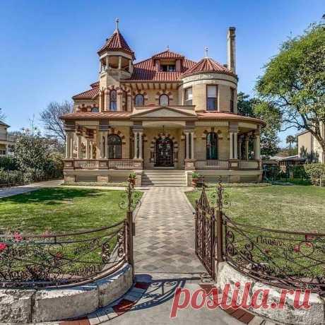 Дом Джорджа Калтейера расположен в историческом районе Сан-Антонио, Техас