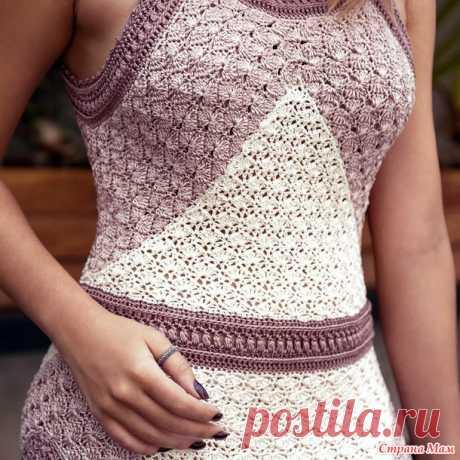 Шедевр-платье от Ванессы Монторо - Все в ажуре... (вязание крючком) - Страна Мам