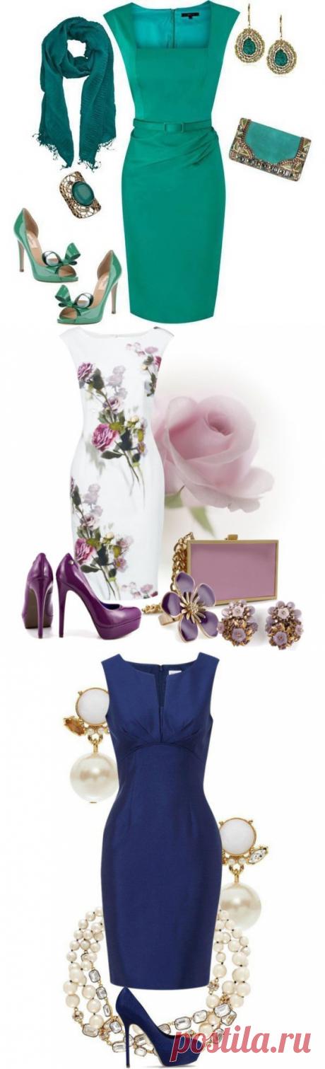 Восхитительные комплекты стильной одежды: платья