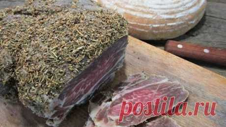 Как приготовить вяленое мясо в домашних условиях   Вяленое мясо. Рецепт   Мраморное мясо