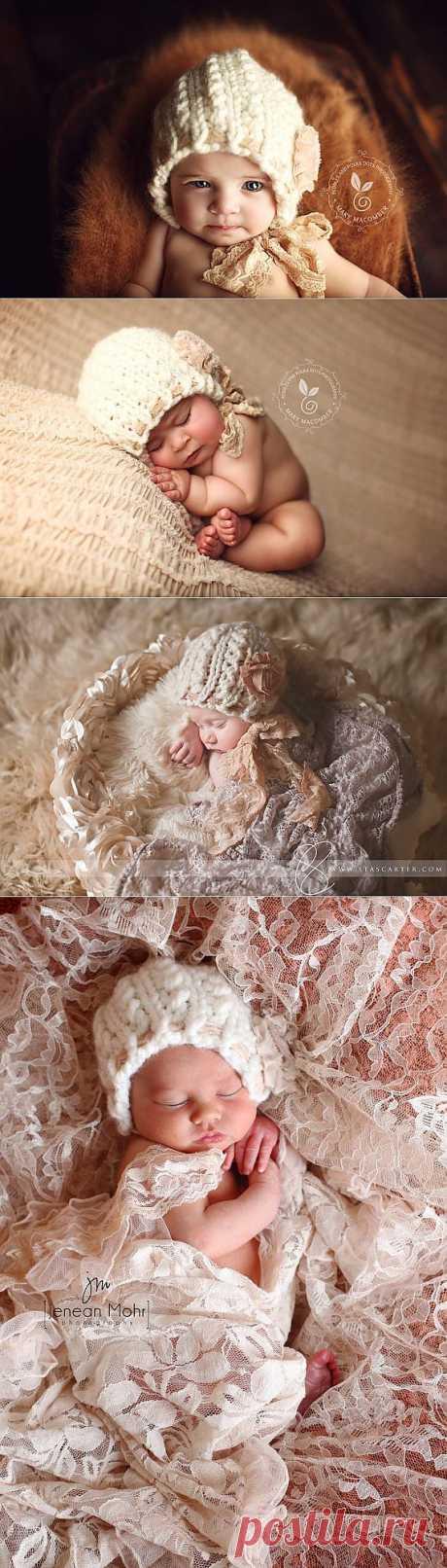 Новорожденный Bonnet