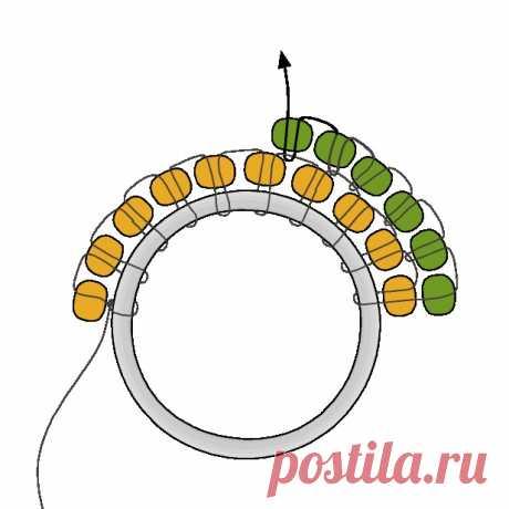 Как сделать серьги из бисера?