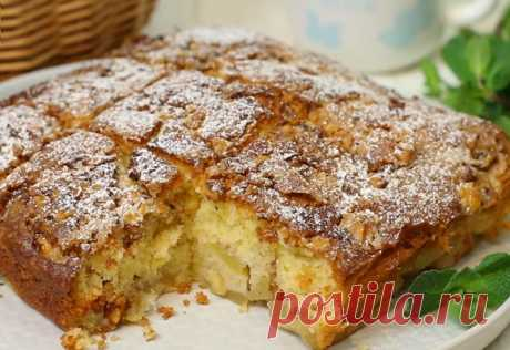 Пирог названный норвежцами самым лучшим Много перепробовала выпечки с яблоками. Но этот норвежский яблочный пирог настолько вкусный,... вот бы приготовить его!