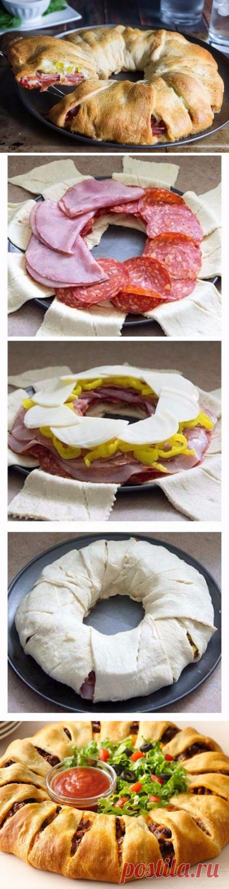 Оригинальная идея для пиццы