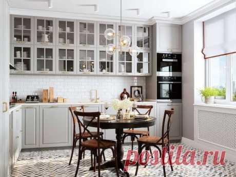 Интерьер и дизайн кухни 14 кв м: ТОП-30 современных идей
