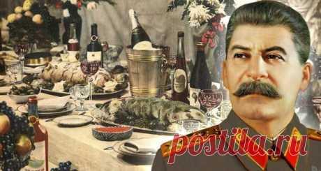 Любимые блюда советских руководителей