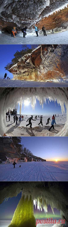 (+1) тема - Прогулка по Верхнему озеру к ледяным пещерам | Непутевые заметки
