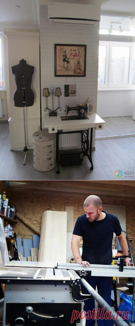 Как с помощью подиума расширить функционал малогабаритки: мастер-класс от отечественного умельца — Pro ремонт