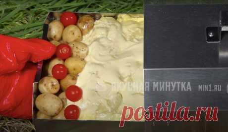 """Еще один рецепт мяса """"по-французски"""", можно обойтись и без духовки: необычно, но очень вкусно получается   Рекомендательная система Пульс Mail.ru"""