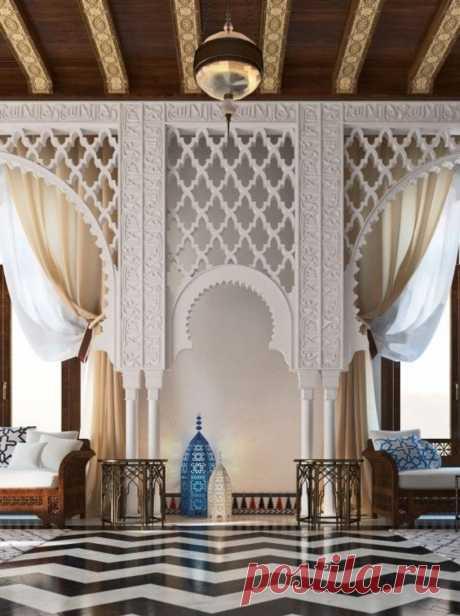Арабский стиль в европейском интерьере. Особенности, фото, советы