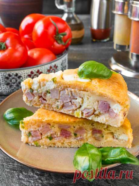 Рецепт запеканки с копченой курицей и сыром на Вкусном Блоге
