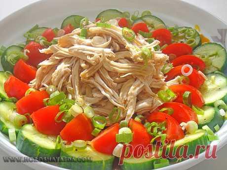 Хорошая еда: Японский салат с курицей