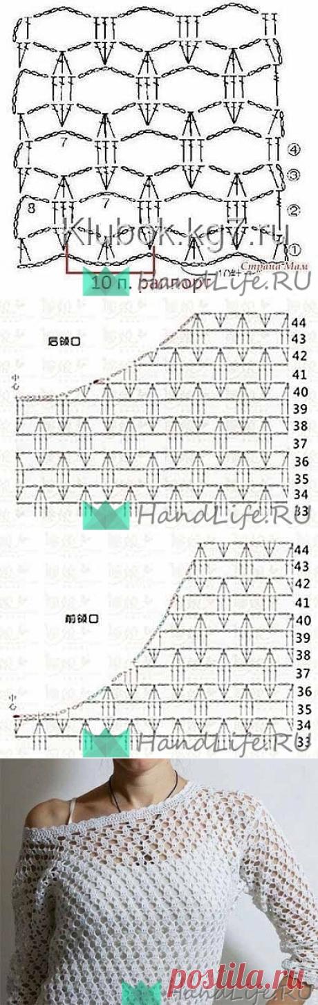 Изумительный узор для вязания крючком / Вязание