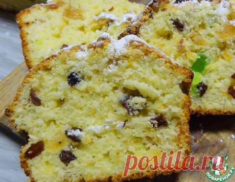 """Творожный кекс """"Ароматный"""" – кулинарный рецепт"""