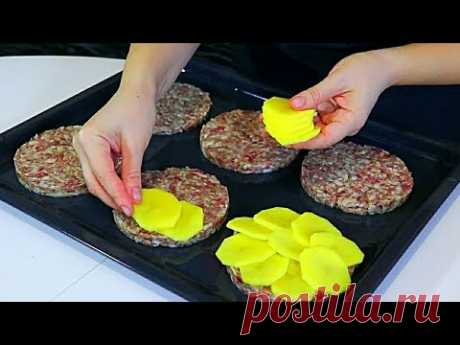Что приготовить из фарша и картошки? НОВЫЙ Рецепт на УЖИН или на ОБЕД!
