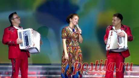 Марина Девятова = Какая ж песня без баяна =