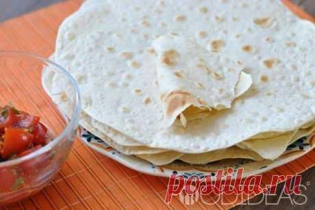 Домашний лаваш - рецепт приготовления с фото