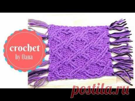Aran Crochet Cable crochet pattern by Oana