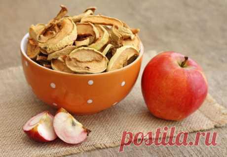 Польза Сушеных Яблок Для Здоровья