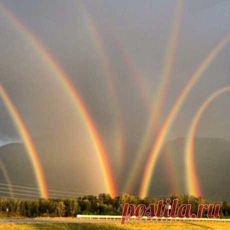 В Коломне после ливня случилось такое вот чудо!