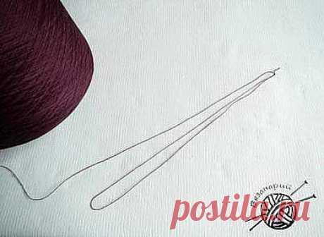 Как вязать в несколько нитей от одного клубка или бобины