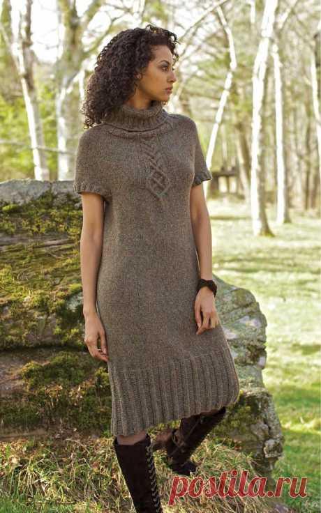 Вяжем платье Akin от Norah Gaughan - Страна Мам