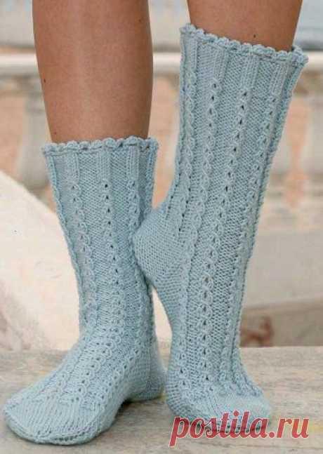 Вязаные носки «Stepping Out» | ВЯЗАНЫЕ НОСКИ
