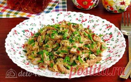 Свинина «Богатырская» с солеными огурцами пошаговый рецепт с фото