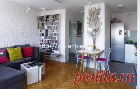 Квартира-студия площадью 28 кв метров