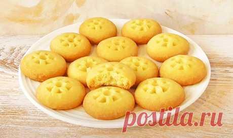 Песочное печенье без яиц Выпечка