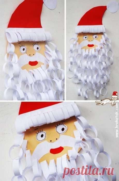 Дед мороз — Поделки с детьми