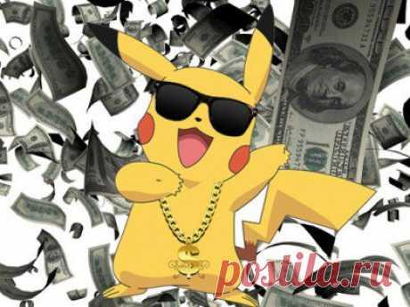 Nintendo становится дороже Sony благодаря Pokemon Go / X-Style