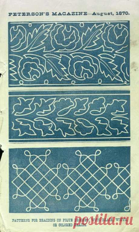 Техника вышивки шнуром на одежде