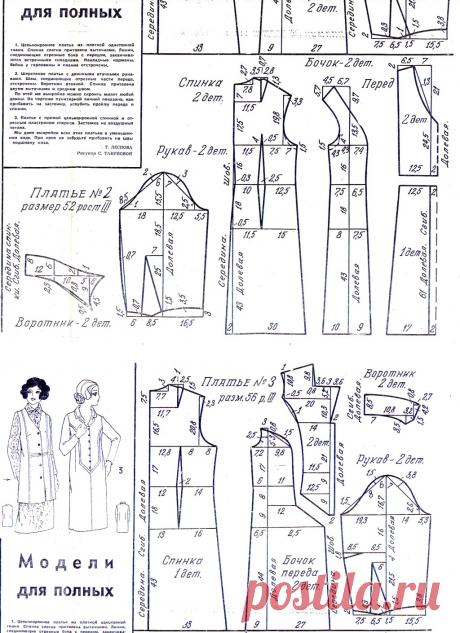 Наряды Больших размеров: не только Винтаж - Страница 19 - Ретро-мода и винтаж - размер 56  РОСТ-3