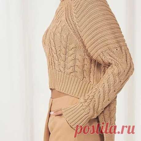 Шикарные пуловеры и свитера на осень! Они вам точно понравятся!   Копилка узоров (Вязание спицами)   Яндекс Дзен