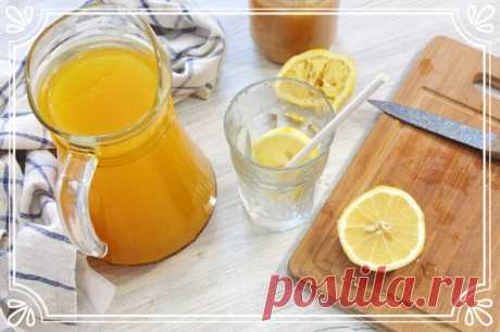 Имбирный напиток с лимоном, медом и куркумой  Предлагаем приготовить очень полезный имбирный напиток. Напиток кисло-сладкий, очень ароматный, мы бы даже сказали ядреный).  К тому же он полезен для Вашего иммунитета, он ускоряет обмен веществ, повышает аппетит, улучшает пищеварение и способствует похудению.  Ингредиенты: Имбирь – 50 г. Лимон – 1 шт. Куркума – 1 ч.л. Мед – 2-4 ст.л. Вода – 2 л.  Способ приготовления: 1). Имбирь очистим от кожуры и порежем на небольшие кусочк...