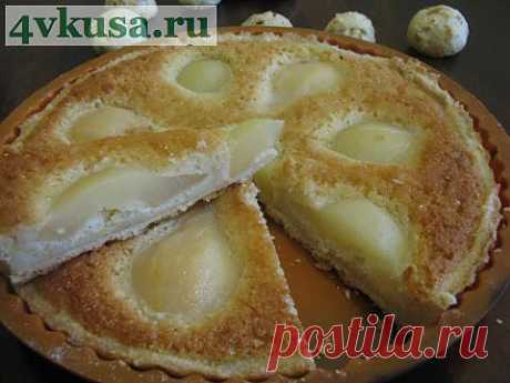 Французский грушевый пирог | 4vkusa.ru