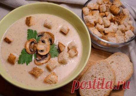 Картофельный суп-пюре – 6 простых и вкусных рецептов приготовления