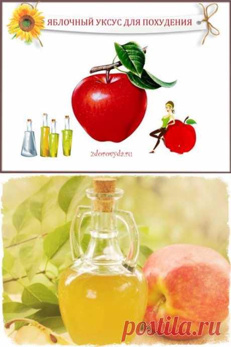 Яблочный уксус для похудения рецепт