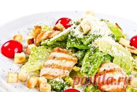 Простой рецепт салата «Цезарь» | Делимся советами