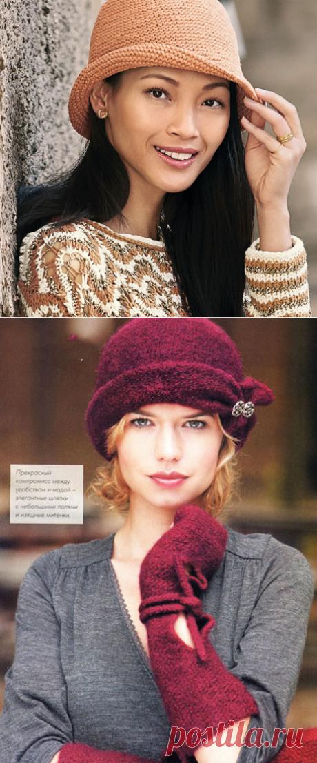 Теплая шляпа для женщин спицами – 5 моделей вязания со схемами и описанием - Пошивчик одежды