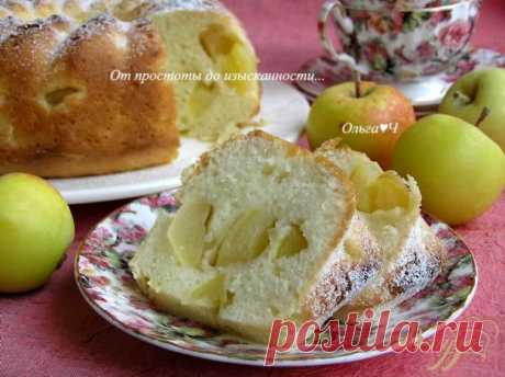 Шарлотка с яблоками - рецепт