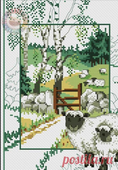 Пастбище овечек/Схема